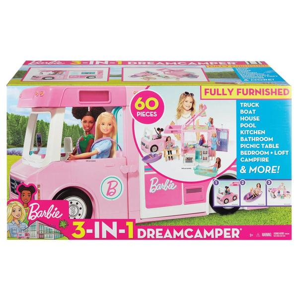 Barbie Super 3in1 Abenteuer Camper